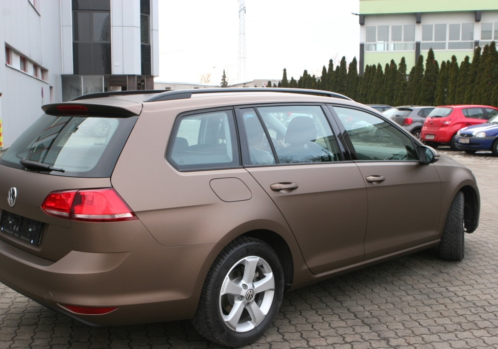 Autofolierung Matte Brown Metallic