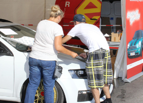 Live Car Wrapping in Mistelbach